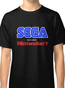 SEGA Does What Nintendon't Classic T-Shirt