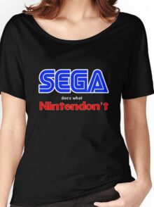 SEGA Does What Nintendon't Women's Relaxed Fit T-Shirt