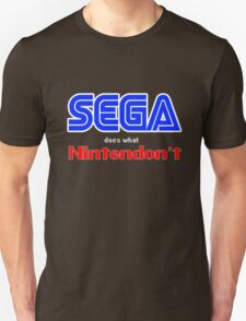 SEGA Does What Nintendon't Unisex T-Shirt