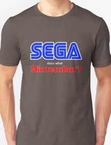 SEGA Does What Nintendon't T-Shirt