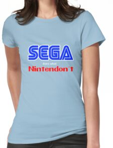 SEGA Does What Nintendon't Womens Fitted T-Shirt