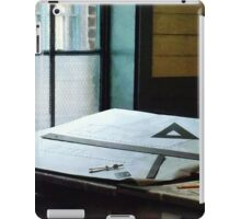 Triangle Ruler And Compass iPad Case/Skin