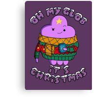 Lumpy Space Princess - Oh My Glob It's Christmas Canvas Print