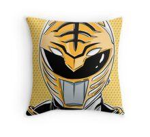 MMPR - White Ranger Throw Pillow