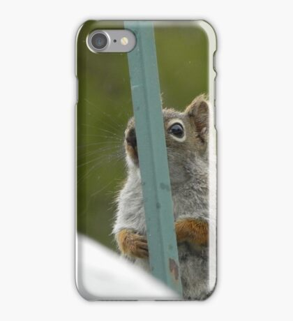 Hiding From The Camera iPhone Case/Skin