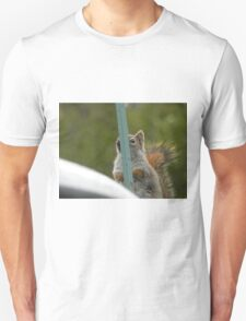 Hiding From The Camera Unisex T-Shirt
