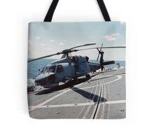 Seahawk Hanging On Tote Bag