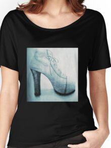 High Heel (blue) Women's Relaxed Fit T-Shirt