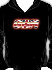 GBR - Great Britain - Flag Logo - Glowing T-Shirt