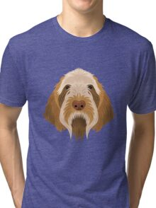 Spinone Italiano Tri-blend T-Shirt
