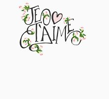 Je T'aime Flowers Womens Fitted T-Shirt
