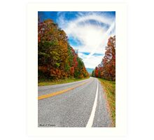Winding Mountain Roads - North Georgia Landscape Art Print