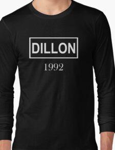 DILLON WHITE  Long Sleeve T-Shirt