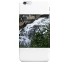Inglis Falls - (card) iPhone Case/Skin