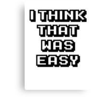 Gg easy Canvas Print