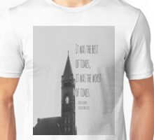 Charles Dickens Tale Two Cities Unisex T-Shirt