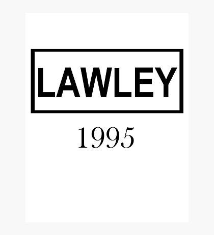 LAWLEY BLACK Photographic Print