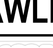 LAWLEY BLACK Sticker
