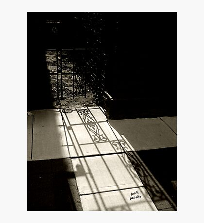 Gate Shadow Photographic Print