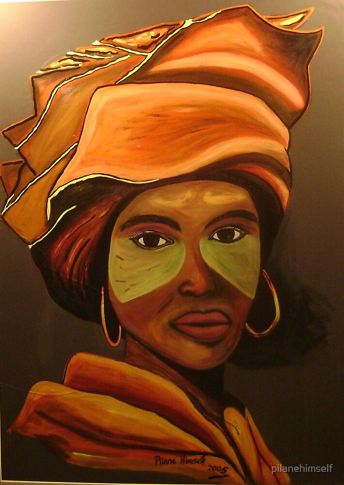 Xhosa lady by pilanehimself