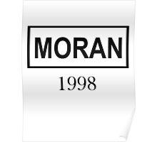MORAN BLACK Poster