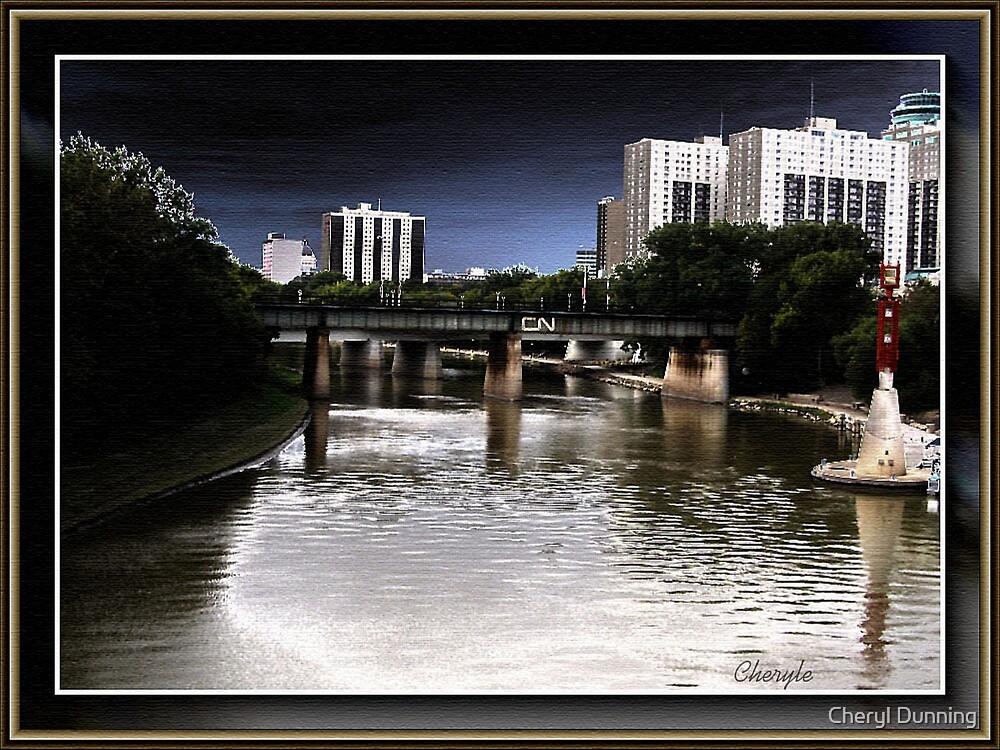 cn bridge by Cheryl Dunning