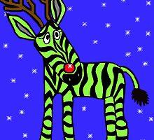 Santa's helper by Vickie  Scarlett-Fisher