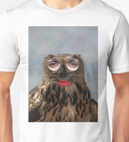 Owl Woman Unisex T-Shirt