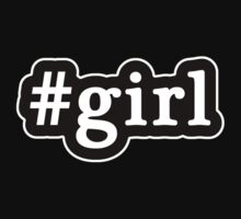 Girl - Hashtag - Black & White Kids Clothes