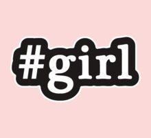 Girl - Hashtag - Black & White Kids Clothes