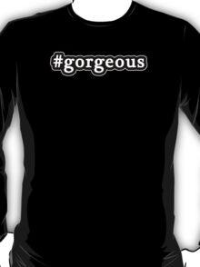 Gorgeous - Hashtag - Black & White T-Shirt