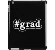Grad - Hashtag - Black & White iPad Case/Skin