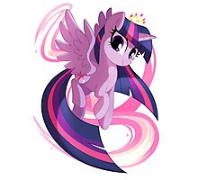Twilight Sparkle Photographic Print