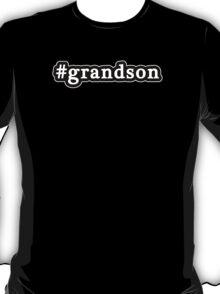 Grandson - Hashtag - Black & White T-Shirt