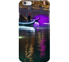 It's Not Venice - Bright Lights, Glamorous Gondolas and the Magic of Las Vegas at Night iPhone Case/Skin