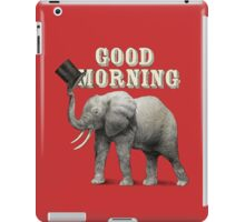 Good Morning iPad Case/Skin