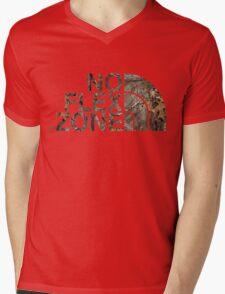 No Flex Zone (camo) Mens V-Neck T-Shirt
