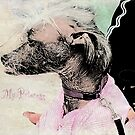 "Chinese Crested Dog ""To My Princess"" ~ Greeting Card by Susan Werby"