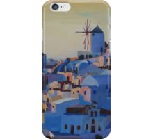 Santorini, Greece - View from Oia iPhone Case/Skin