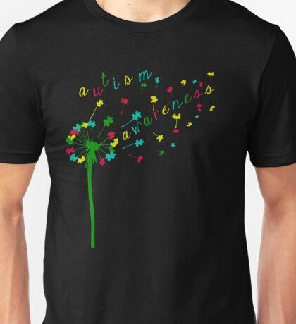Autism Shirts - Autism Awareness Ribbon  Unisex T-Shirt
