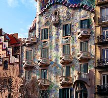 Casa Batllo, Barcelona, Spain by Vincent Abbey
