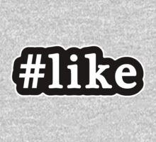 Like - Hashtag - Black & White Kids Clothes