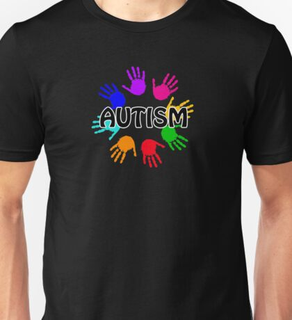 Autism hands awareness Unisex T-Shirt