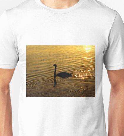Golden Swan Unisex T-Shirt