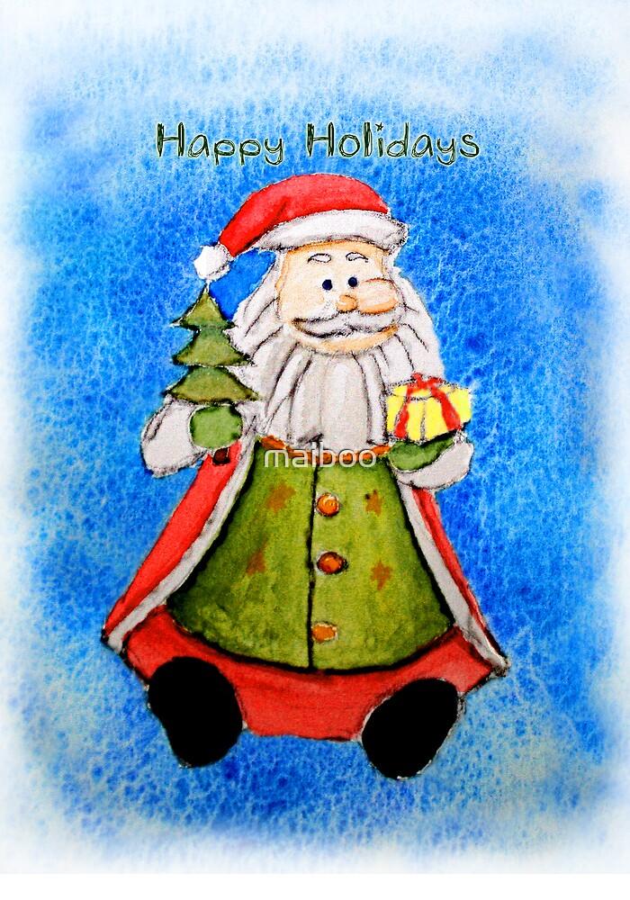 Happy Holidays from Santa by maiboo
