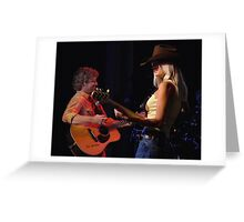 Dirks Bentley on Stage Greeting Card