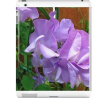 Lovely Lilac Sweet Peas iPad Case/Skin
