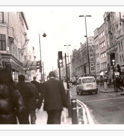 Oxford Street, London Sticker