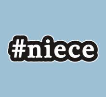 Niece - Hashtag - Black & White One Piece - Short Sleeve