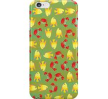 Crabs and fish iPhone Case/Skin